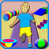 3D Shapes Ride - Geometric Balloons Simulator Learning Game Image