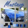 Mustang Jigsaw Image