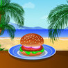 Cooking Tasty Hamburger Image