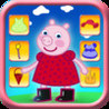 Dressing up Pig Game Pro - Kids Safe App No Adverts Image