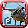Chopper Landing 3D Image