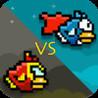 Flappy Twin Hero Bird - Super Bird vs Iron Bird Image
