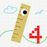 Number Jumper - cute retro jumping game Image