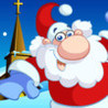 Happy Christmas Time with Santa Claus, Snowman, Elf, Reindeer Jigsaw Puzzles: Fun Educational Game for Kids and Toddlers Image
