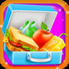 Lunch box Maker - Add your favourite food i.e Candies, Sandwich, Burger, cookies and much more Image