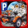 3D Space Race Parking Simulator - Real Moon Truck Park Mission Car Gravity  Sim Racing Games Image