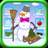Snowman Festive Dressing up Game Pro - Kids Safe App NO Adverts Image