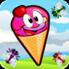 Scoops! - Little Summer Frozen Snow Cones Vs. Crazy Flying Insect Game Image
