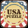 USA Puzzle Map Image