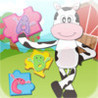 Farm Animal Puzzles - Educational Preschool Learning Games for Kids & Toddlers Image