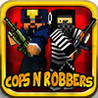 Cops and Robbers- London Prison Escape Mc Multiplayer Block Shooter 3D game Image