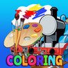 Coloring Book For Thomas and friends Edition Image
