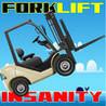 Forklift Insanity PRO-Forklift stunt driver jump game Image