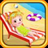 Baby Hazel Beach Time Image