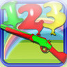 Shoot The Numbers - Playground Balloons Numbers Shooting Game Image