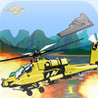 Helicopter Retro Image