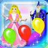 123 Colors Magical Kingdom - Balloons Learning Experience Catch Game Image