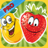 Fruit Quiz Saga PRO - newest test for sweet children guessing adventure of all exotic farm fruits like apple,pear and cherry Image