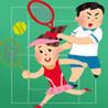 Futari de Dekiru Game: Futari Tennis Image