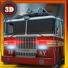 3D Fire Truck Simulator - a real rescue fire truck driving and parking simulation game Image