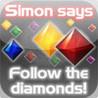 simon says. HD PRO. simon says diamonds memory game. Image