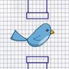 Tiny Bird Doodle Wings Image