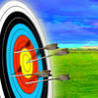 Archer bow shooting Image