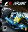 Formula One Championship Edition Image