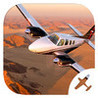 Flight Simulator (Baron 58 Edition) - Airplane Pilot and Learn to Fly Sim Image