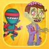 Awesome ninjas against zombies PRO - shooting game Image