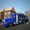 Car Transporter Truck Drive 3D Image