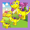 A Dino-saur Kids Sort-ing Game with Fun-ny Tasks: Animal-s & Happy Pets Play & Learn Image