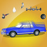 Lowrider Awakering: Car Repair Image