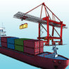 Container Terminal Simulation Image