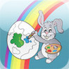 Easter Bunny Coloring Book Image