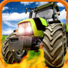 A Farm War Combat Run: Speed Tractor Game Image