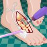 Football Girl Foot Surgery  & Nail Makeover Image