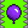 Purple Pixel Balloon Image