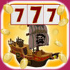 The Pirate Slot Machine and Prize Wheel - Spin It To Win Buried Treasure Doubloons! Image