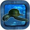 Deep Blue Sea Turtle Slide Image