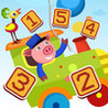All Aboard! Counting Game for Children: learn to count 1 - 10 with Train and Animals Image