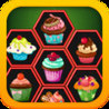 Cup Cakes - Collect Candy In One Row! Image