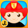 Professions Puzzle - Logic Learning Game with Different Occupations like Police Officer, Firefighter, Construction Worker, Astronaut for Toddlers and  Image