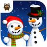Sweet Baby Girl Christmas Fun and Snowman Gifts - Kids Game Image