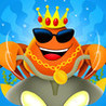 A Hermit Crab - Sea thug of the ocean gang for boys girls and kids Image
