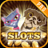 Ace Jackpot Cats and Dogs Slots Machine Fun PRO - Las Vegas Spin to Win the Gold Jackpot City Image