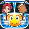 Emoji Guess & Letter Up Icon Pic - find what's the word in this guessing trivia crack pop quiz Image