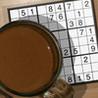Coffee And Sudoku Image