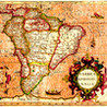 American and Caribbean Countries - Flag, Capitals and the Map of North, Central and South (Latin) America Image
