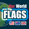 Our World flags. Identify flags from across the globe Image